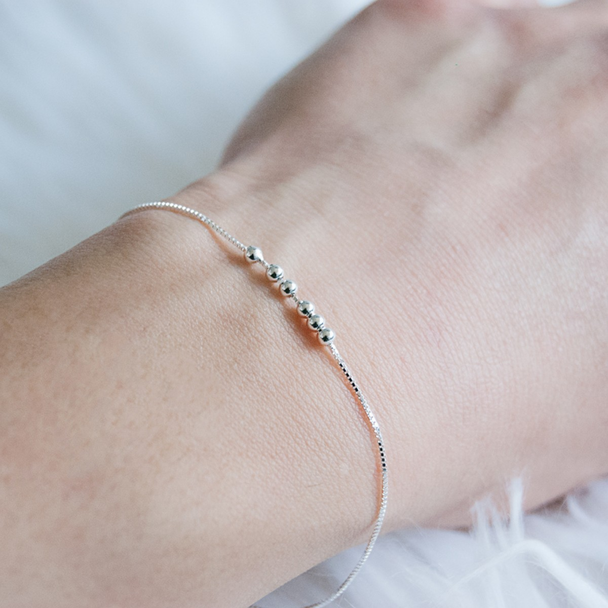 Dots | Armband 925 zilver