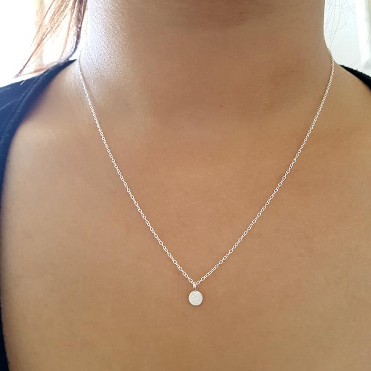 Coin | Ketting 925 zilver