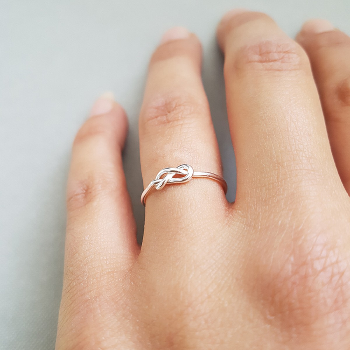Knot | Ring 925 zilver