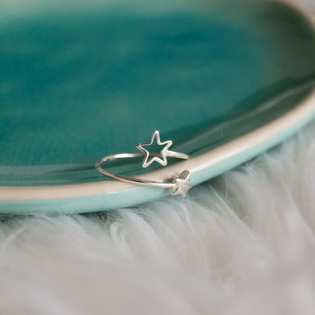 Star | Ring 925 zilver