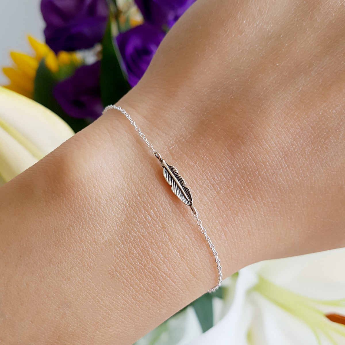 Feather | Armband 925 zilver