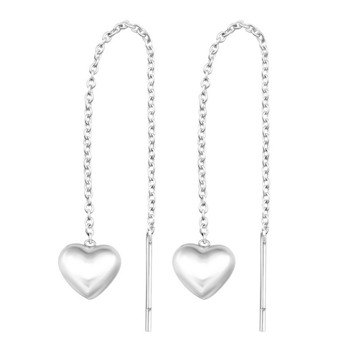 Heart Threaders | Oorbellen 925 zilver
