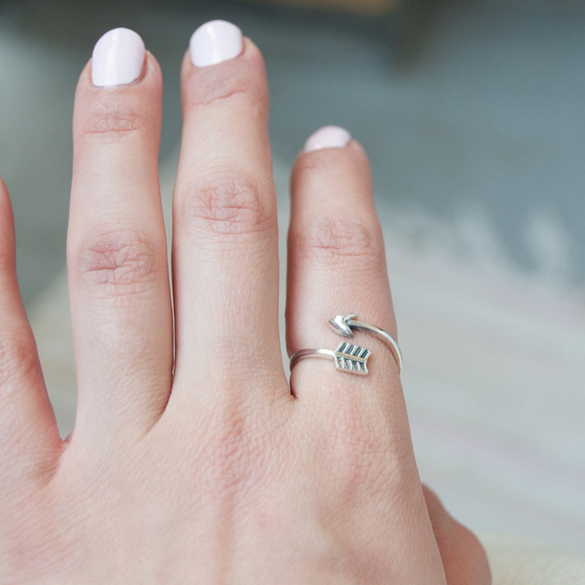 Arrow | Ring 925 zilver