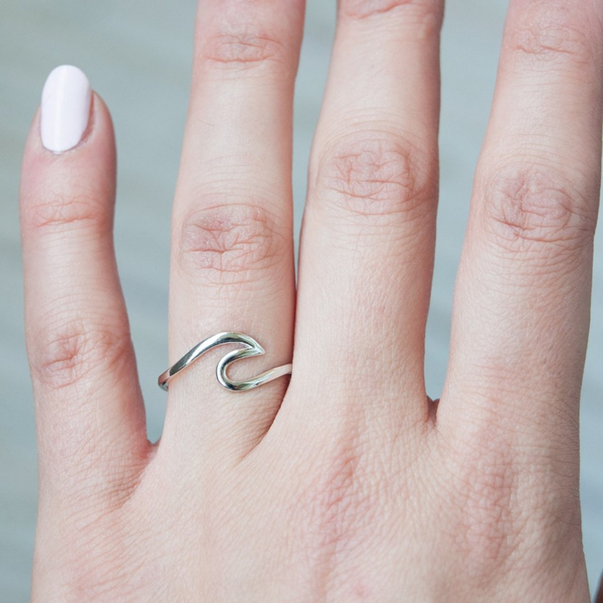 Wave | Ring 925 zilver