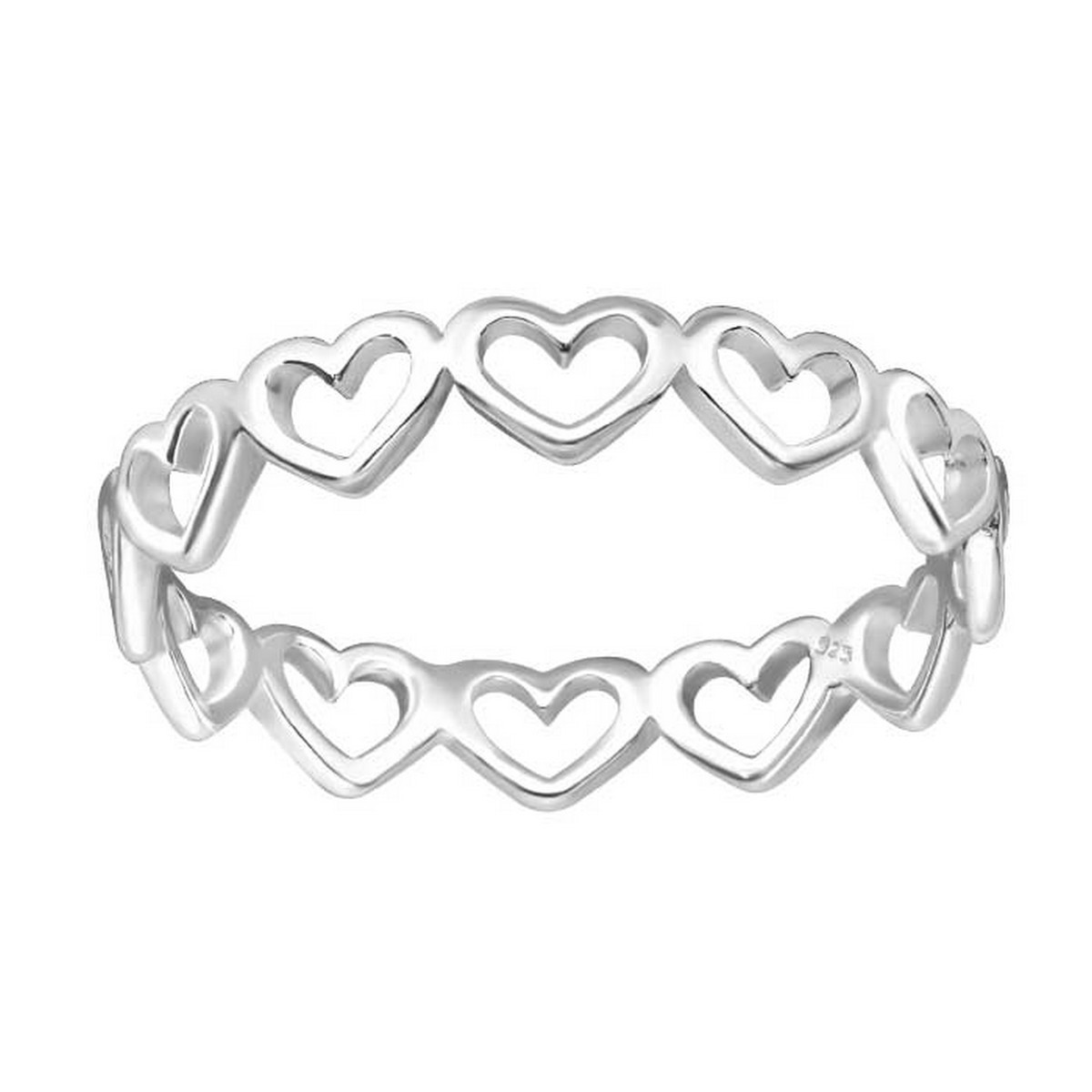 Hearts | Ring 925 zilver