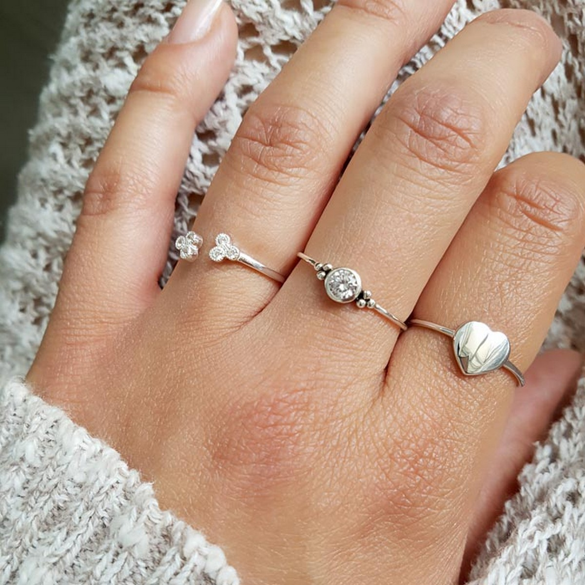 Heart | Ring 925 zilver