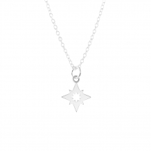 North Star Open | Ketting 925 zilver