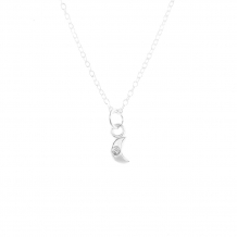 Moon Sparkle | Ketting 925 zilver