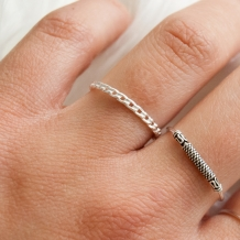 Chain | Ring 925 zilver