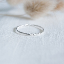 Twist | Ring 925 zilver