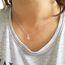 Star | Ketting 925 zilver