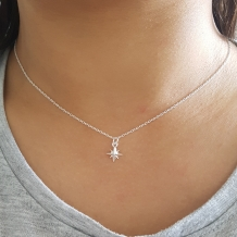 North star | Ketting 925 zilver